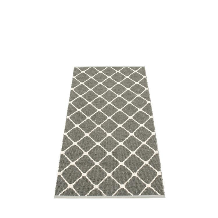 Pappelina matta Rex charcoal 70x160 cm
