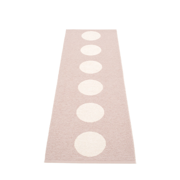 Pappelina matta Vera pale rose · vanilla 70x225 cm