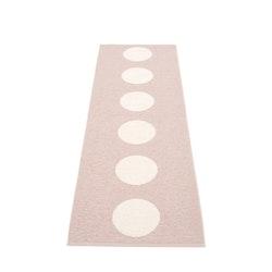 Pappelina matta Vera Pale rose· vanilla 70x225 cm