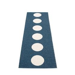 Pappelina matta Vera ocean blue · vanilla 70x225 cm