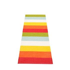 Pappelina matta Molly rainbow 70x200 cm