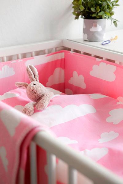 Färg&Form Moln spjälskydd rosa