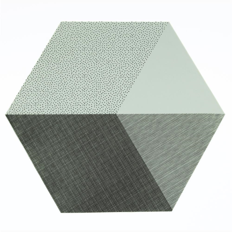 By May Polygon bordstablett 2-pack Mint