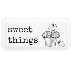 "Erika Tubbin ""Sweet things"" avlång bricka"