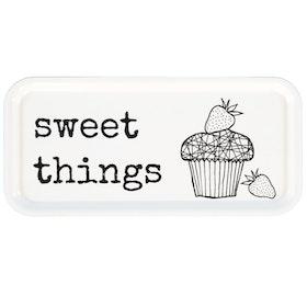 "Erika Tubbin avlång bricka ""Sweet things"""