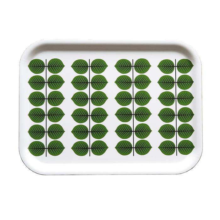 Stig Lindberg Berså liten bricka grön