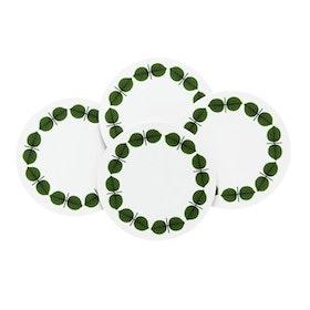Stig Lindberg Berså glasunderlägg 4-pack grön
