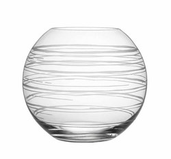 Orrefors Graphic vas rund