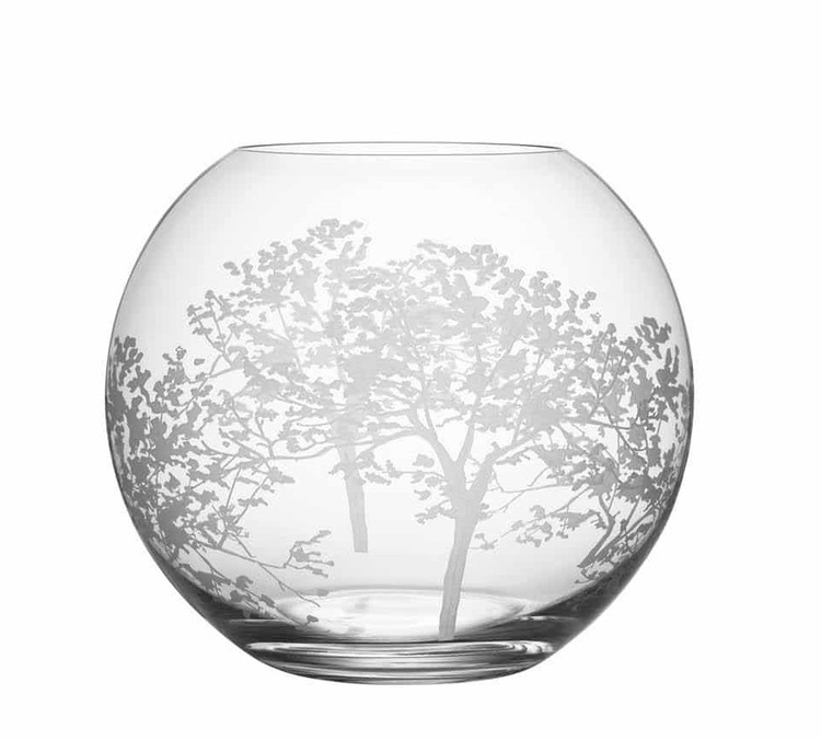 Orrefors Organic vas rund