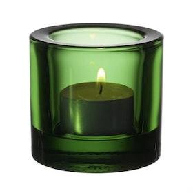 Iittala Kivi ljuslykta grön