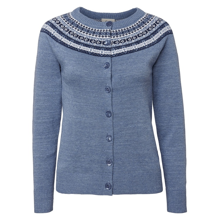 Jumperfabriken Vendela cardigan indigo