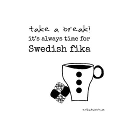 "Erika Tubbin disktrasa ""Swedish fika"""