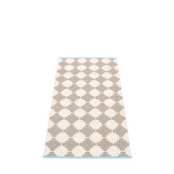 Pappelina matta Marre mud · vanilla 70x150 cm