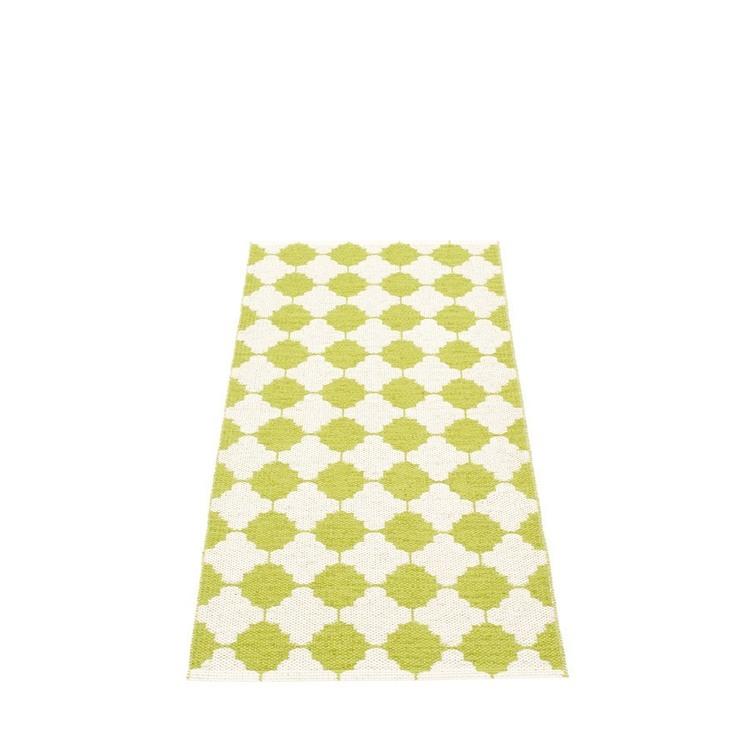 Pappelina matta Marre lime · vanilla 70x150 cm