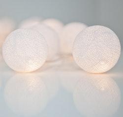 Irislights ljusslinga Pure white