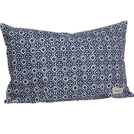 ERNST Blå mönster kudde