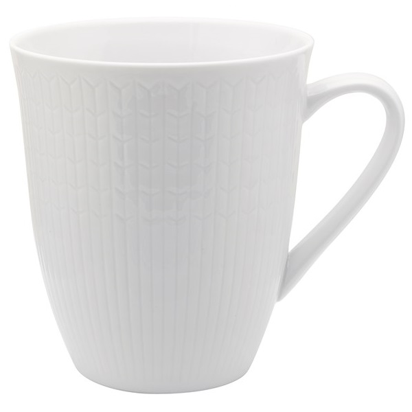 Rörstrand Swedish Grace mugg 50 cl Snö
