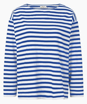 Jumperfabriken Dora jumper blue/white