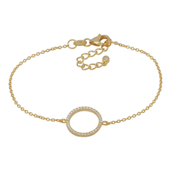 Joanli Nor armband Anna cirkel guld