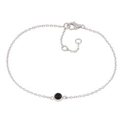 Joanli Nor armband Sweets silver med svart onyx