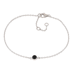 Nordahl Jewellery armband Sweets silver med svart onyx