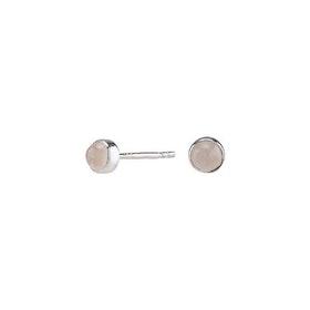 Nordahl Jewellery örhängen Sweets silver med rosa kvarts