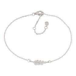 Joanli Nor armband Alexa feather silver