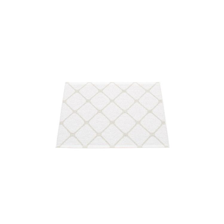 Pappelina matta Rex Fossil grey · White 70x60 cm