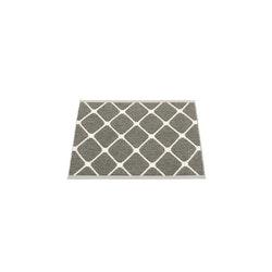 Pappelina matta Rex charcoal · vanilla 70x60 cm