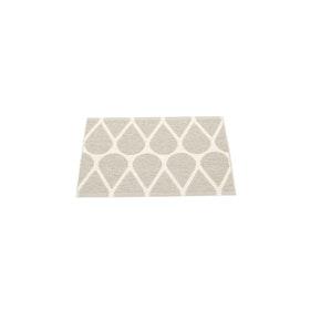 Pappelina matta Otis Linen · Vanilla 70x50 cm