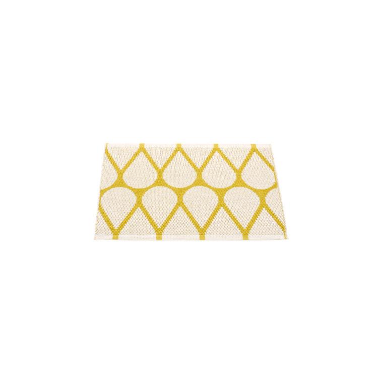 Pappelina matta Otis Mustard · Vanilla 70x50 cm