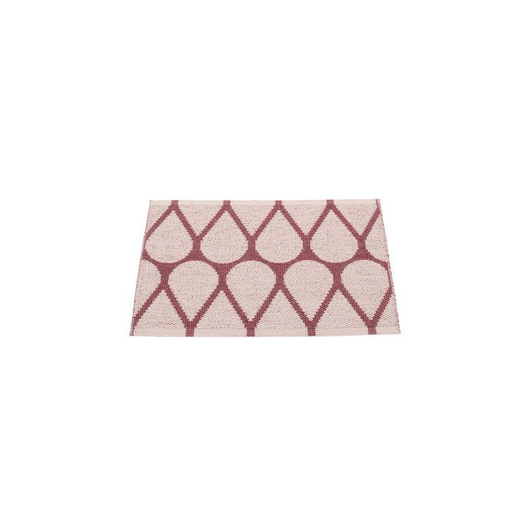 Pappelina matta Otis Taupe · Pale rose 70x50 cm
