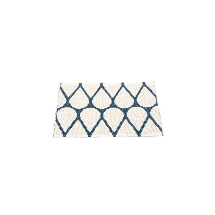 Pappelina matta Otis Ocean blue · Vanilla 70x50 cm