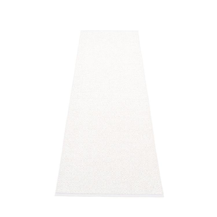 Pappelina matta Svea White metallic · White 70x240 cm