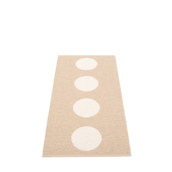 Pappelina matta Vera Beige· Vanilla 70x150 cm