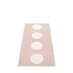 Pappelina matta Vera Pale rose· Vanilla 70x150 cm