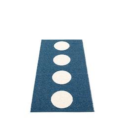 Pappelina matta Vera ocean blue · vanilla 70x150 cm