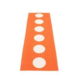 Pappelina matta Vera orange · vanilla 70x225 cm