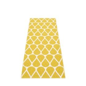 Pappelina matta Otis mustard · vanilla 70x200 cm
