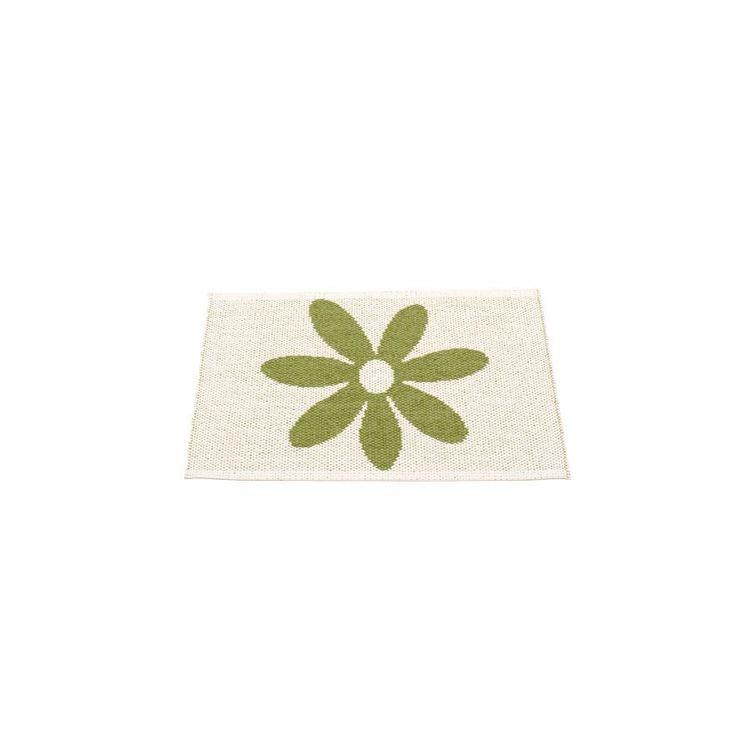 Pappelina matta Lilo olive · vanilla 70x50 cm