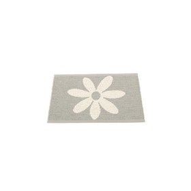 Pappelina matta Lilo warm grey · vanilla 70x50 cm