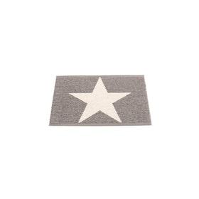 Pappelina matta Viggo Star mud metallic · vanilla 70x50 cm