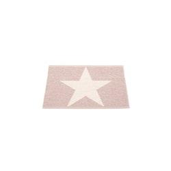 Pappelina matta Viggo One pale rose · vanilla 70x50 cm