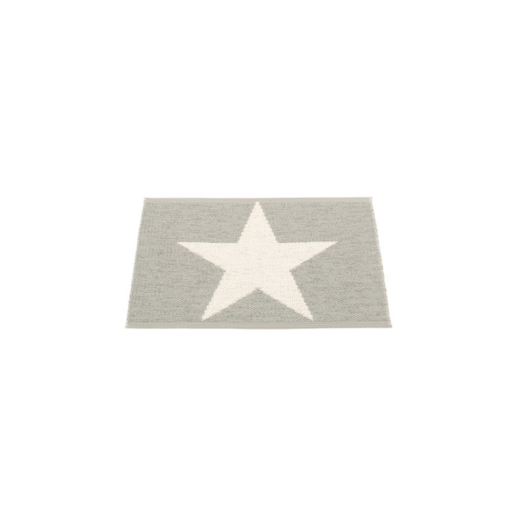Pappelina matta Viggo One Warm grey · Vanilla 70x50 cm