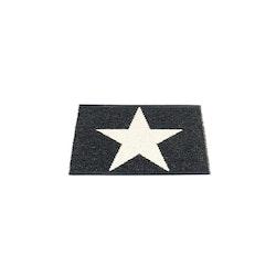 Pappelina matta Viggo One black · vanilla 70x50 cm