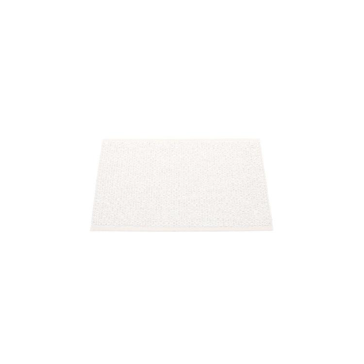 Pappelina matta Svea White metallic · White 70x50 cm