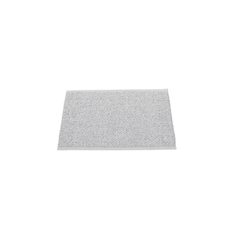 Pappelina matta Svea Grey metallic · Light grey 70x50 cm