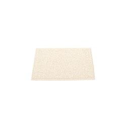Pappelina matta Svea champagne metallic · vanilla 70x50 cm