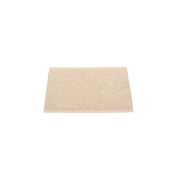 Pappelina matta Svea beige · champagne metallic 70x50 cm