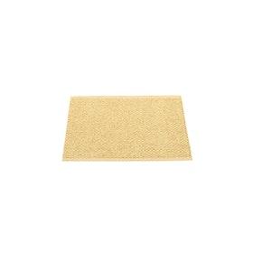 Pappelina matta Svea gold metallic · pale yellow 70x50 cm